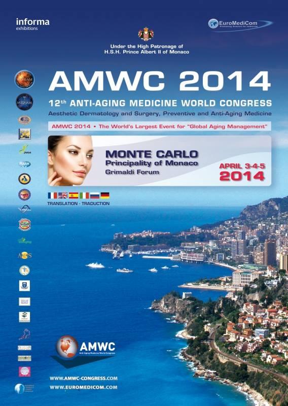 AMWC 2014: 12th Anti-aging Medicine World Congress