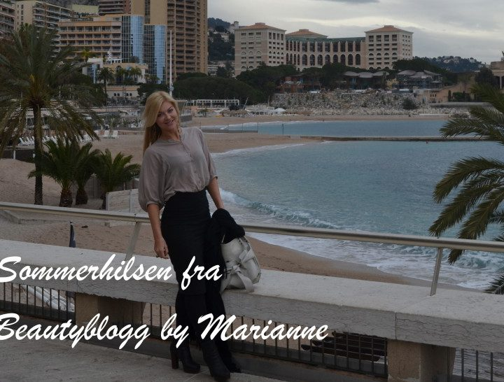 Sommerord fra Beautyblogg by Marianne