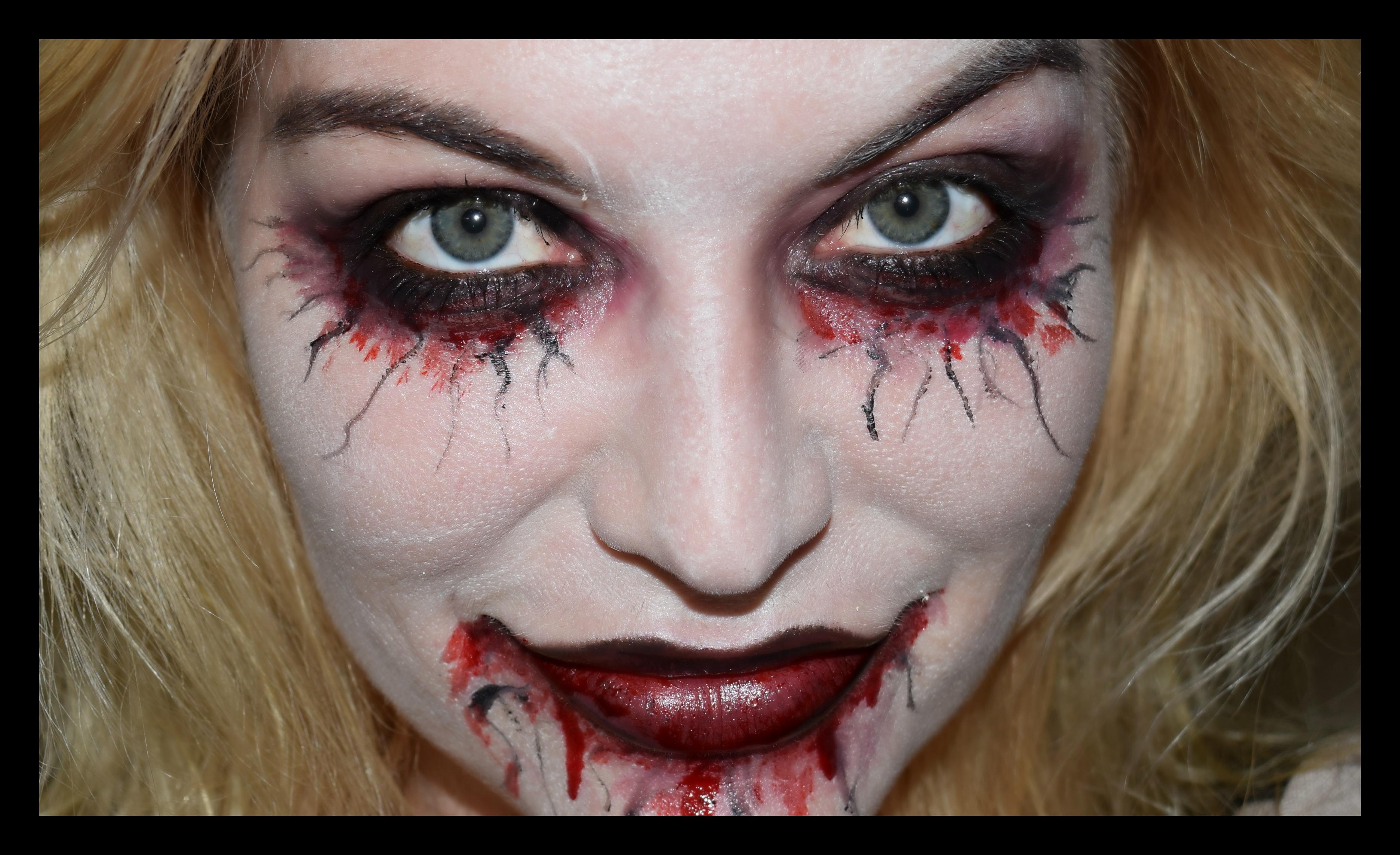 Skummel Halloween Sminke.Mine Beste Halloween Tips Beautyblogg