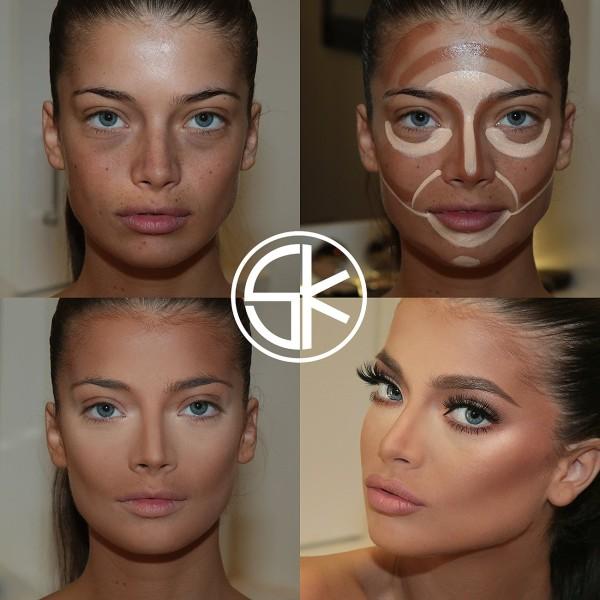 få lagt makeup