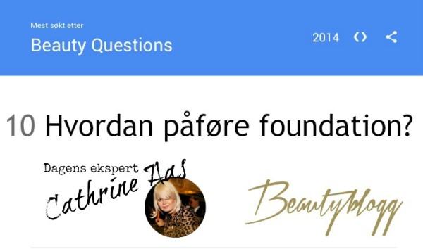 Hvordan påføre foundation?