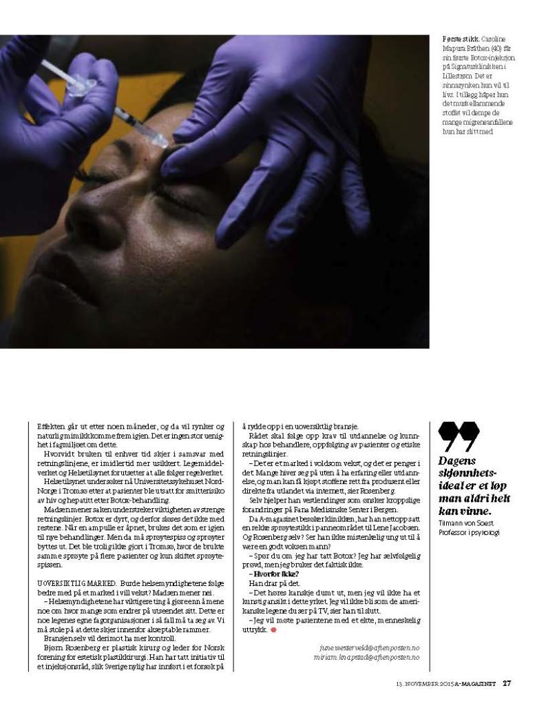signaturklinikken botox pris