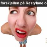 Hva er forskjellen på Restylane og Botox Beautyblogg Signaturklinikken