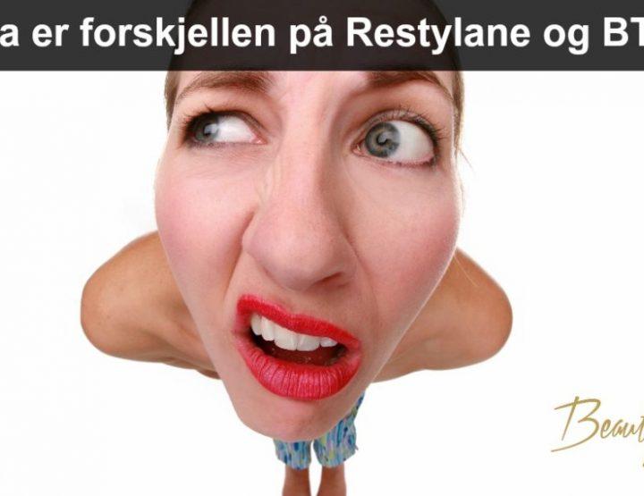 Hva er forskjellen på Restylane og Btox?