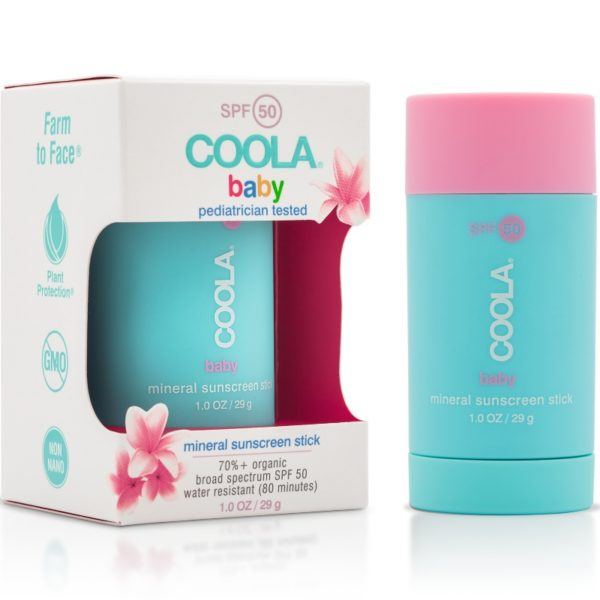 Coola Baby SPF50 Unscented Sunscreen Stick