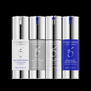 ZO Skin Health Skin Brightening Program + Texture