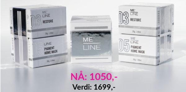 MeLine Kampanje Kjøp Pigment Home Mask, FÅmed Restore